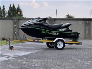 Kawasaki 310X ulta Supercharged jet ski 16 hours