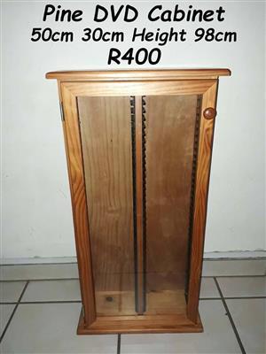 Pine DVD Cabinet