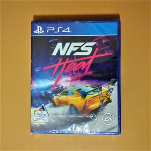 Brand New! (Sealed) Need for Speed Heat (2019) for PS4