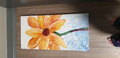Sunflower painting Negotiable