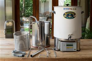 Complete 20l SPEIDEL BRAUMEISTER all grain beer home brewing and dispensing system for sale