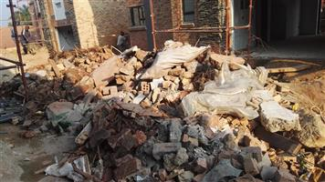Everyday rubble removals and  demolition service in Joburg.