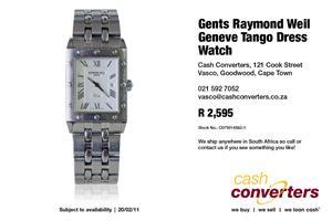 Gents Raymond Weil Geneve Tango Dress Watch