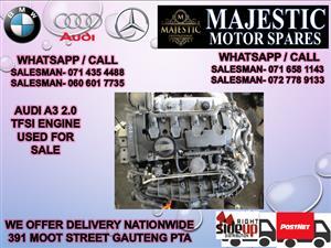Audi A3 2.0 TUFSI engine for sale