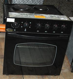 Samet 4 plate stove with oven and hobb S032466A #Rosettenvillepawnshop