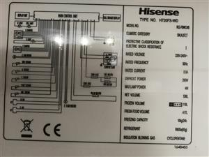 Hisense french door fridge