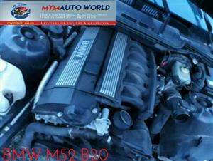 Imported used BMW E36/E46 6 CYLINDER DOHC 24V,  Complete second hand used engines,