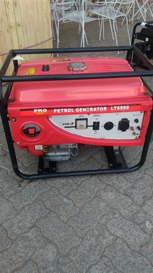 Red petrol generator for sale