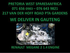 Renault megane 2 engine for sale