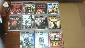 Playstation 3 with 13 games 2 are brand new including 2 controllers wireless and the charging cables for it