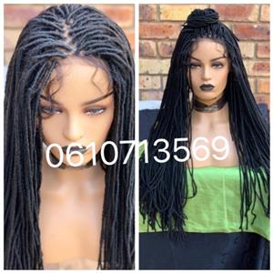 BEAUTIFUL 28 inch LACE FRONTAL DREADLOCK WIG