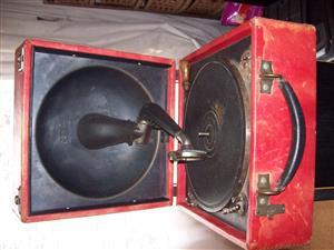 Antique - Decca Record Player.