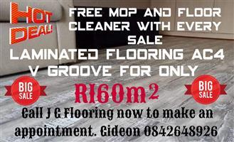 Laminated Flooring, Vinyls and Carpets