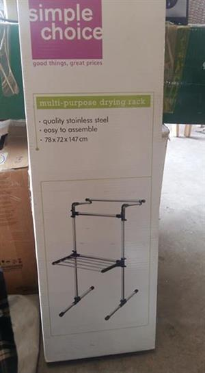 Multi purpose drying rack
