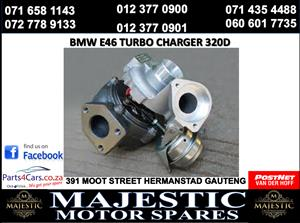 Bmw e46 turbocharger for sale