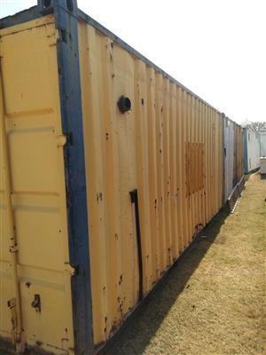 Second hand container for sale