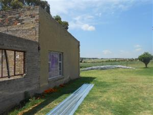 8,5ha usable land ideal for a small farmer that wants to start farming.  Sterktfontein. Midvaal