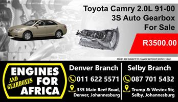 Toyota Camry 3S 2.0L 91-00 Auto Gearbox For Sale