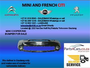 Mini cooper r60 front bumper for sale