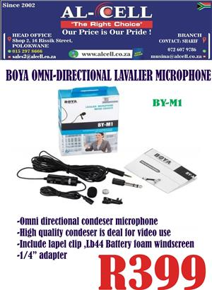 Boya Omni-Directional Presentation Mini Microphone