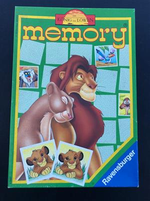 Ravensburger 23331 – König der Löwen Lion King Memory Game - perfect to improve kids memory!