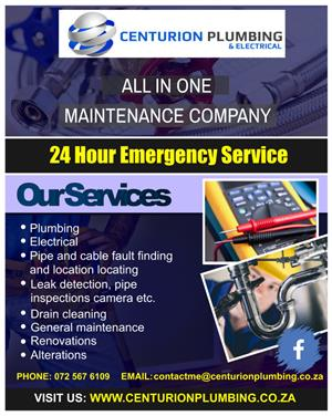 Centurion Plumbing and Electrical