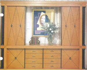 Callaro custom wall unit