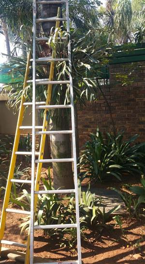 2 Long ladders for sale