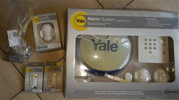 Yale wireless alarm system for sale. As new. Includes full standard system and some extras.