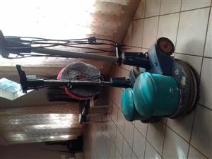 wetrok floor polisher