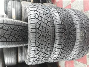 255 / 60 / 18 Pilleri tyres