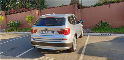 2011 BMW X3 xDRIVE 30d LUXURY LINE (G01)