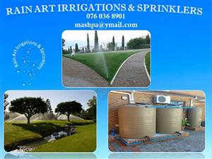 Irrigation Sprinklers and Boreholes