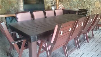 LARGE PATIO SET FOR SALE ONLY R15000.00 VALUED AT R45000.00