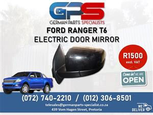 Ford Ranger T6 - Electric Door Mirror FOR SALE!