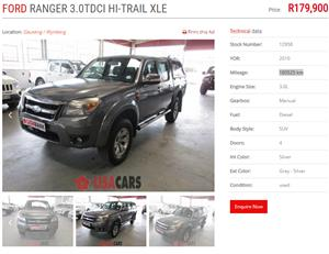 2010 Ford Ranger double cabRanger double cab