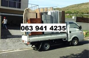 Furniture Bakkie for hire and Rubble removals / Demolition