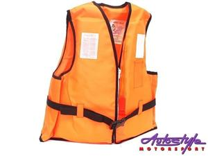 Swimming Life Jacket Orange kids safety life jacket