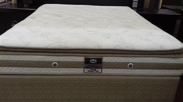 Sealy Tivoli Pillow Top Queen Mattress and Base Set