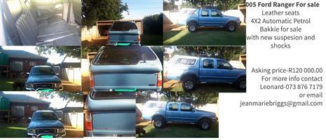2005 Ford Ranger double cab RANGER 2.0D XLT A/T P/U D/C