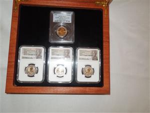 Nelson Mandela Centenary coin collection