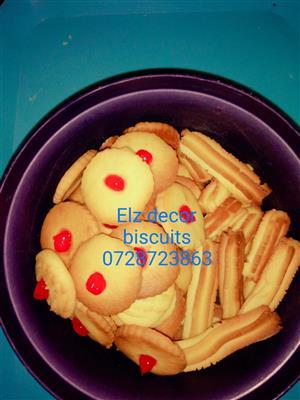 Elz decor melting moments biscuits