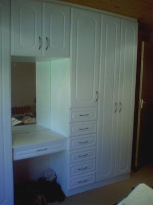 Bedroom, Bathroom and Kitchen units