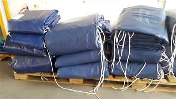 super-link,tri-axle & 8 tonne trucks tarpaulins & cargo nets