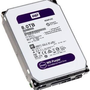 WD purple 8tb x2