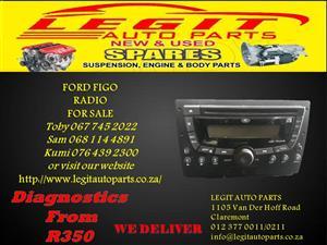 FORD FIGO  RADIO FOR SALE