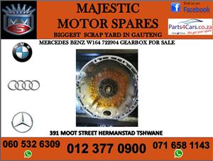 Mercedes benz w164 722904 gearbox for sale