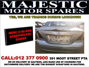 Mercedes benz C180 used spares for sale