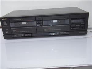 Technics Stereo Double Cassette Deck RS-T130- R2550 - Tel: 083 4755 751