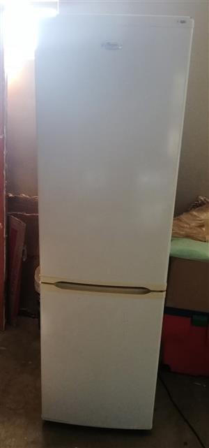 White Whirlpool Fridge and Freezer
